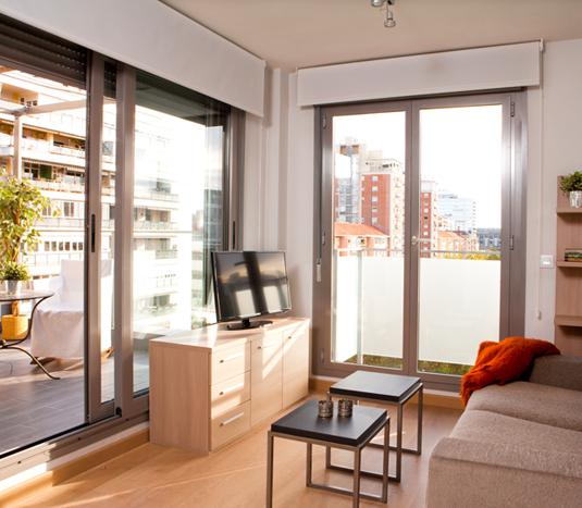 Alquiler de pisos y apartamentos amueblados en madrid for Alquiler muebles madrid