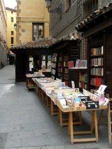 Proinca-MadridFansBlog. El puesto de libros más antiguo de Madrid. Libreria San Ginés