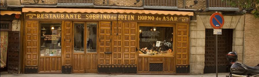 Botín, más de 300 años, el restaurante más antiguo del mundo
