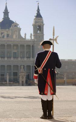 Proinca.MadridFansBlog. Cambio de guardia en el Palacio de Oriente de Madrid