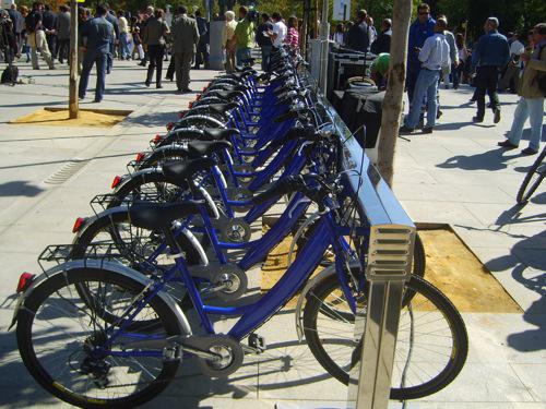Proinca Madridfansblog.Bicing bicicletas Madrid
