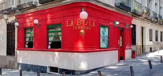 Proinca. Gastronomía madrid, restaurante La Bola