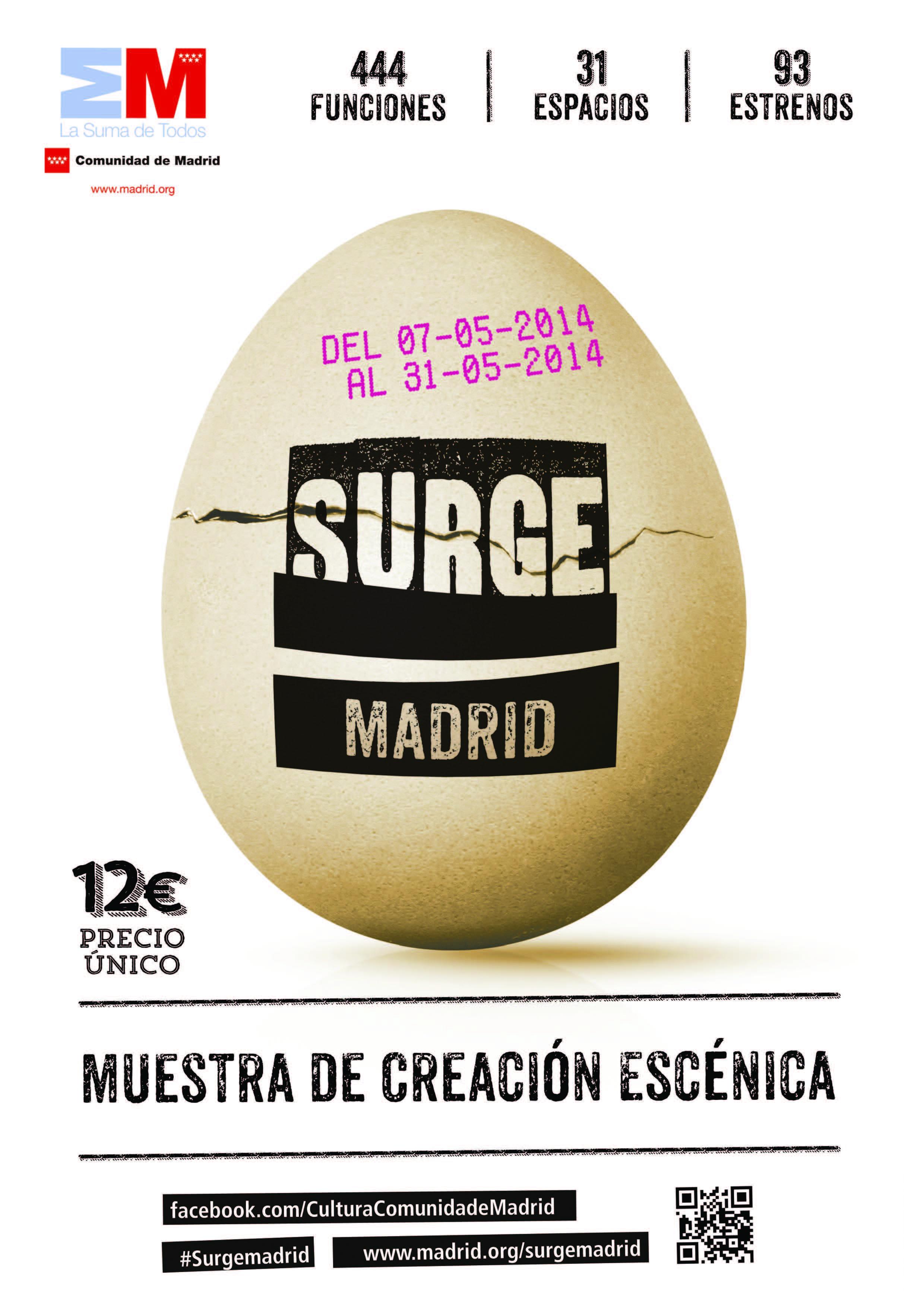 Proinca Mdridfansblog. Teatro Surge en Madrid