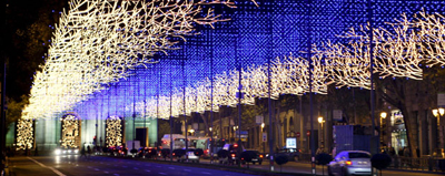 Proinca MadridFansblog navidad luces de Madrid