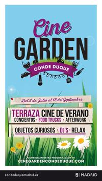 madrid cine garden