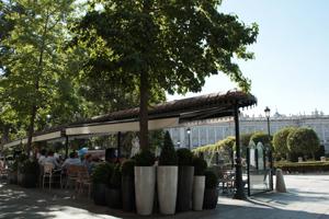madrid terraza cafe de oriente