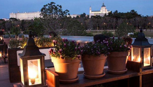 madrid terraza del cafe del rio