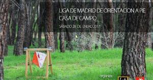 madrid Casa de Campo pruebas de orientacion