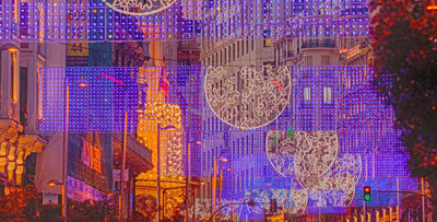 luces navidad gran via madrid