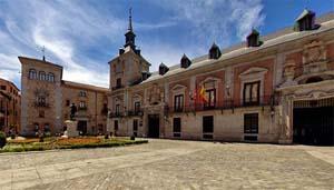 plaza de la villa madrid edificios antiguos