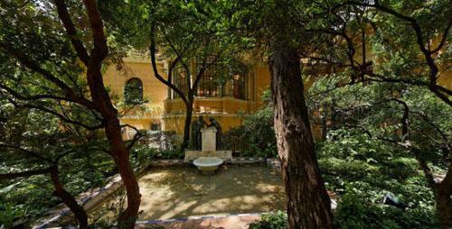madrid patio museo sorolla