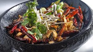 madrid ano nuevo chino plato