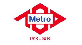 Imagen del metro de Madrid 2019 en el año de la celebración de su centenario