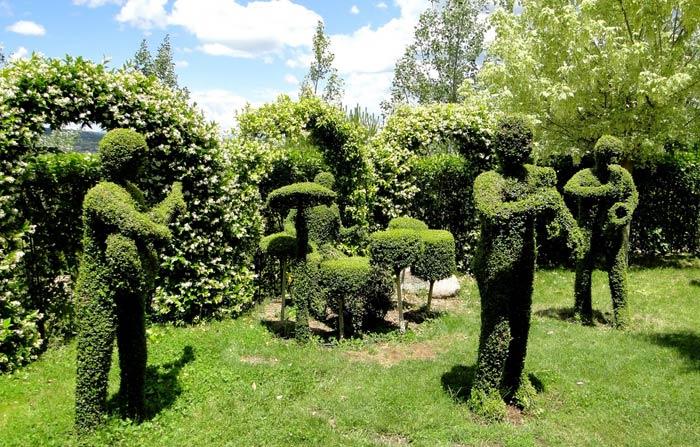 Bosque encantado en San Martín Valdeiglesias en Madrid
