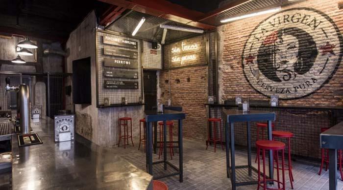 Fábrica cervezas La Virgen Madrid