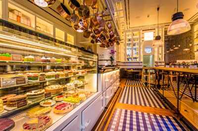 Vista de Celicioso restaurante sin gluten en Madrid