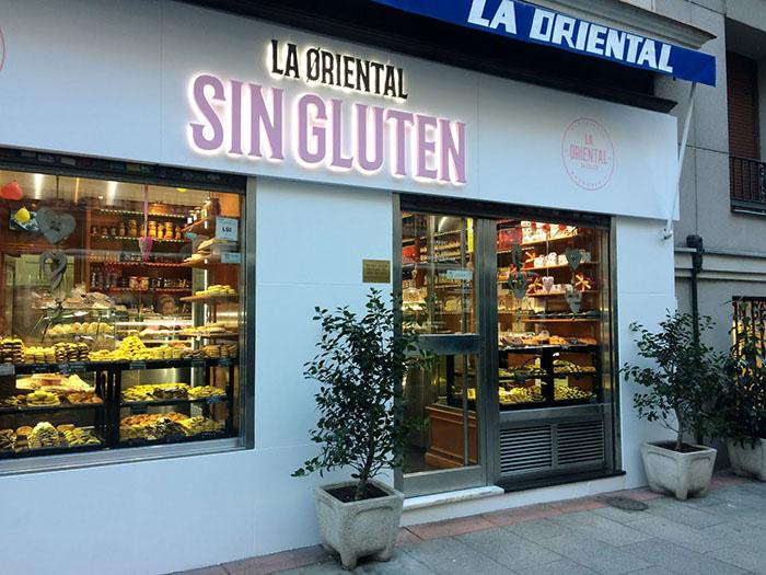 Vista de La Oriental restaurante sin gluten en Madrid