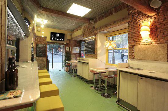 Vista de La Tape restaurante sin gluten en Madrid