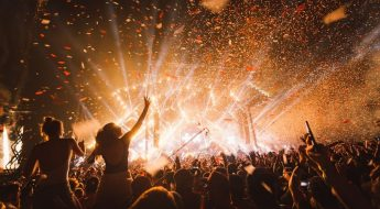 Imagen de un festival de música Madrid 2019