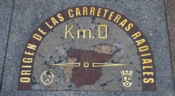 Imagen del Km 0 de Madrid