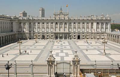 Imagen del Palacio Real en Madrid