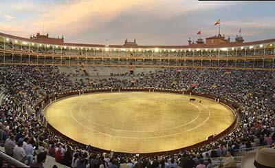 Imagen plaza de toros Las Ventas en Madrid