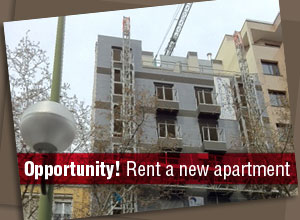 Proinca is building a modern apartment building for rent in the Infanta Mercedes street
