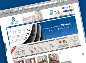 New website apartments to rent in Madrid